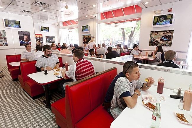 Customers-in-restaurant