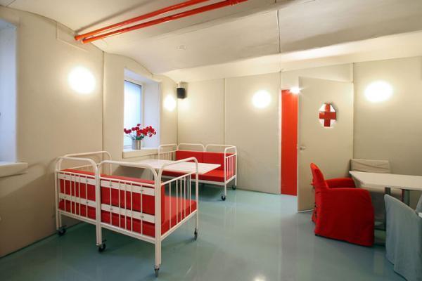 Sleeping-room-of-Hospital