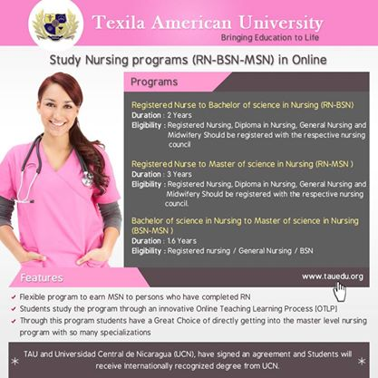Nursing online program @ TAU