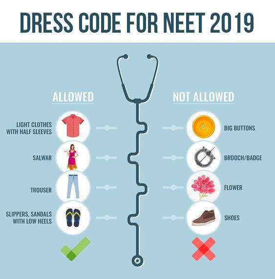 Dress-Code-for-NEET-Exam
