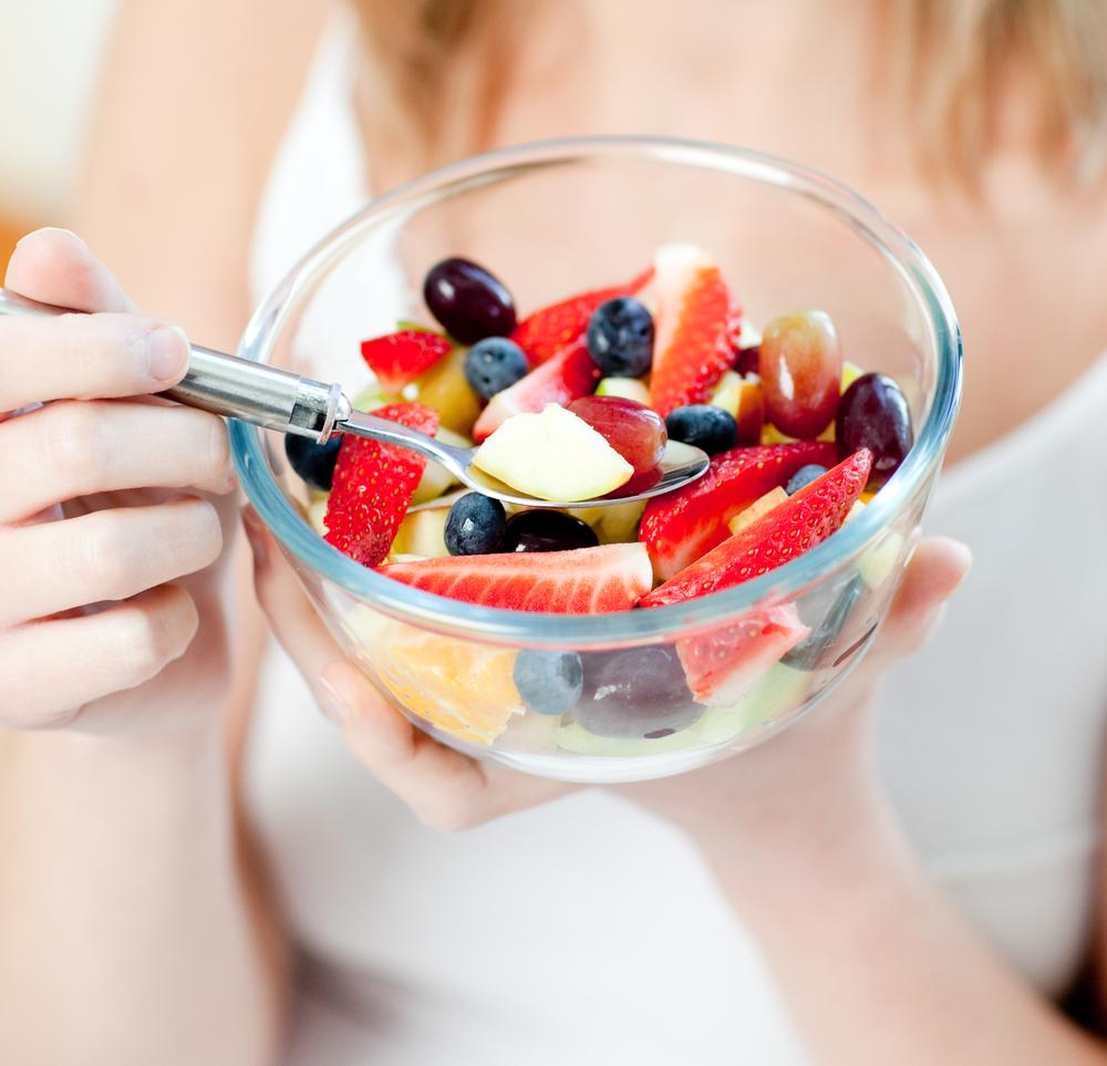 Eating-a-fruit-salad