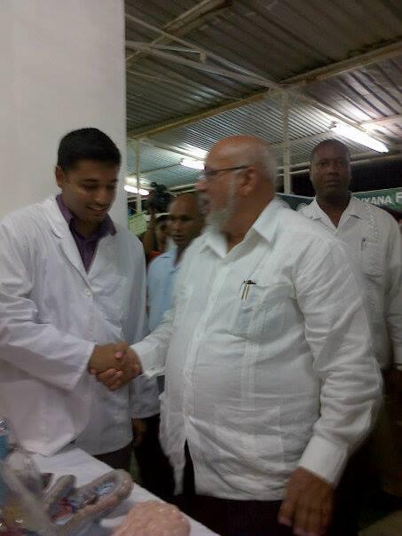 Guyana-President-Donald-Ramotar-visit-towards-TAUs-Expo@Berbice