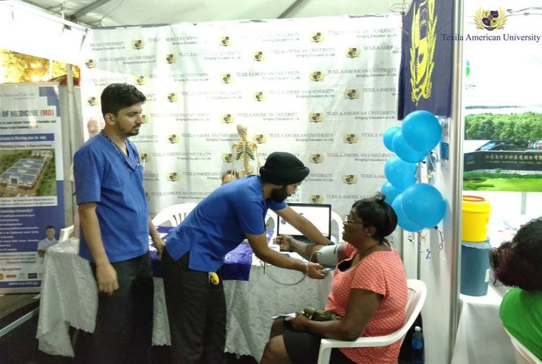 Texila-Faculty-and-Students-in-Health-Expo-2018