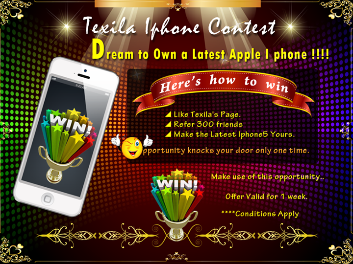 Texila-iPhone-Contest