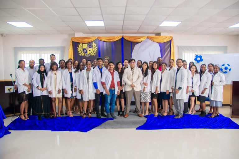 Texila white coat ceremony