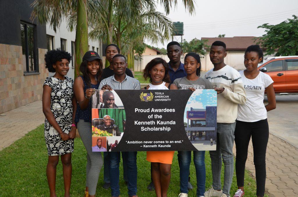 Kenneth Kaunda Scholarship Awardees