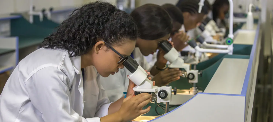 Medical University Lab in zambia