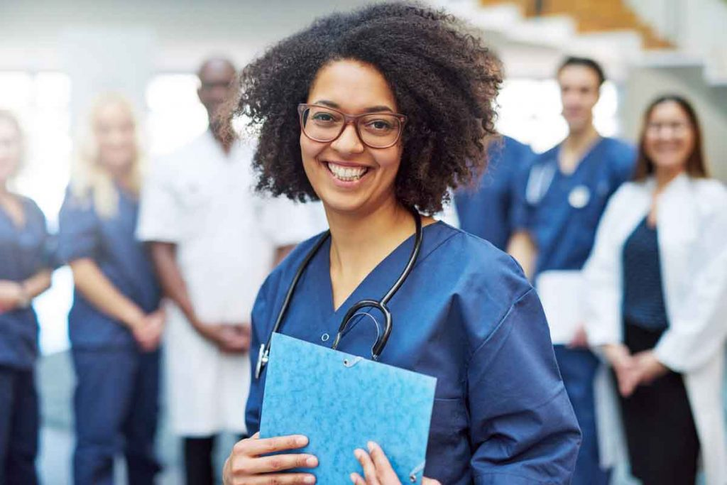 Student Studying masters in public health online