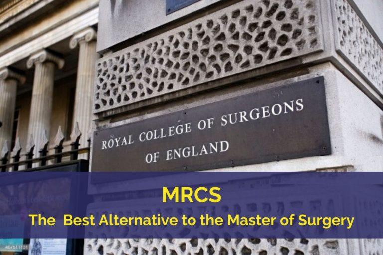 MRCS Royal College Program
